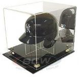 Baseball Batting Helmet Display Case - with Mirror Back